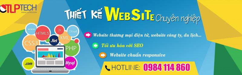 Thiết kế web mẫu cao cấp