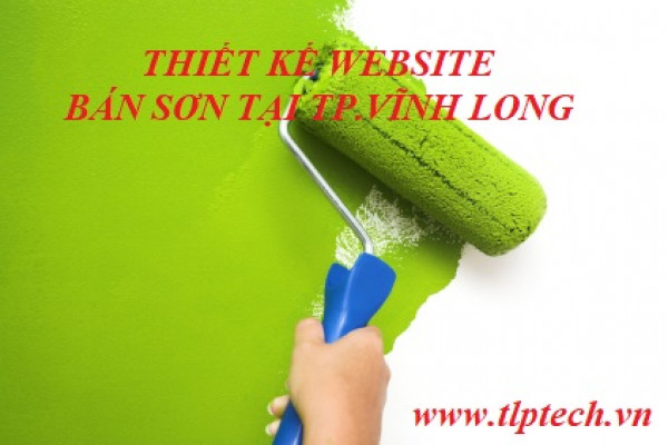 Thiết kế website bán sơn tại TP. Vĩnh Long.