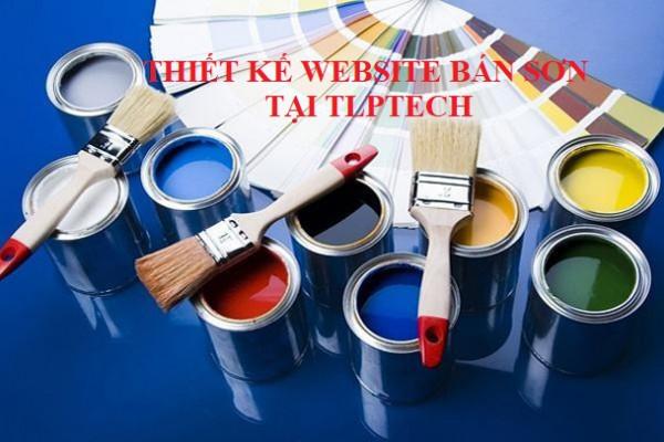 Thiết kế website bán sơn tại TP. Cần Thơ