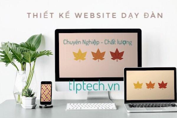 Thiết kế website dạy học đàn uy tín - chuyên nghiệp tại TLPtech - TP.Hồ Chí Minh
