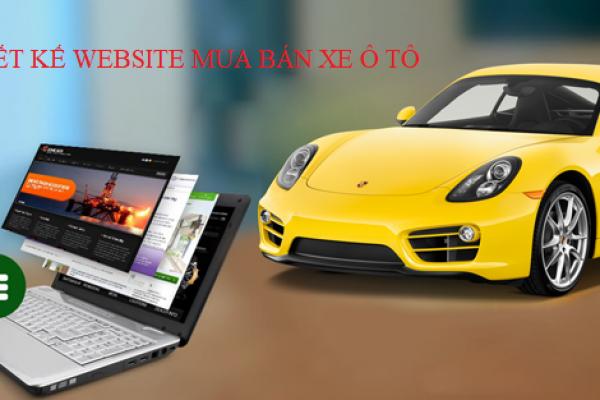 Thiết kế website mua bán xe ô tô đẳng cấp và sang trọng tại TLPtech.