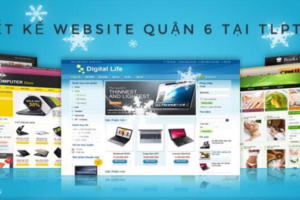 Thiết kế website quận 6 - TP.Hồ Chí Minh tại TLPtech