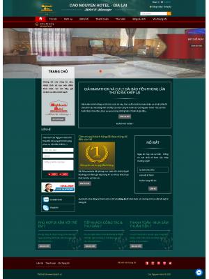Web khách sạn - Cao Nguyên Hotel