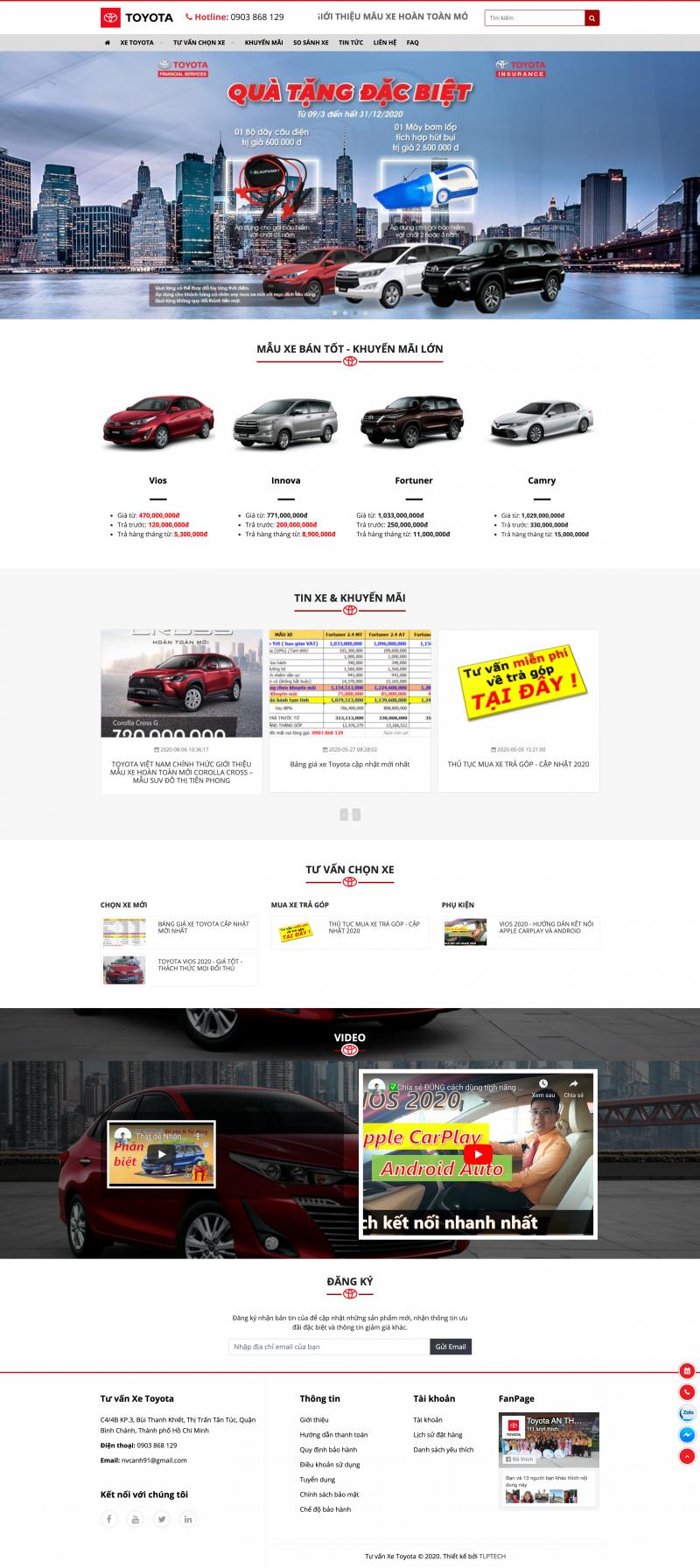 Tư vấn Xe Toyota