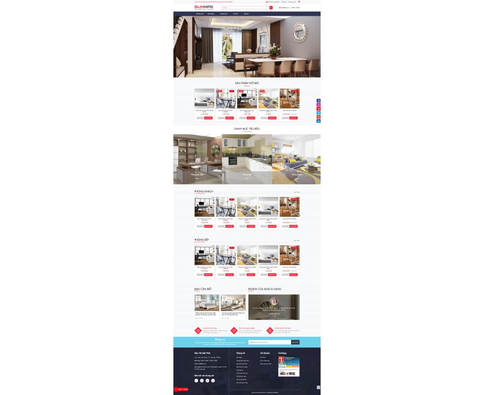 Web nội thất